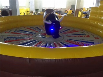bull riding and rodeo inflatable
