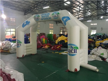 Half Marathon promotion arche inflatable
