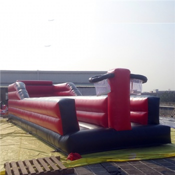 Racing bungee run inflatable