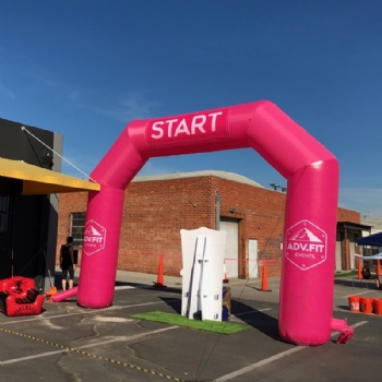 start and finish run race arch inflatable United State