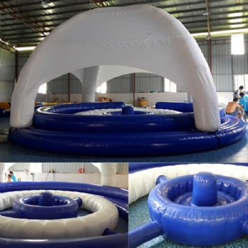 Customized Inflatable floating leisure room for event
