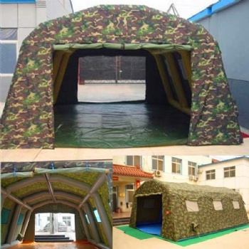 Movable Inflatable Camouflage Army Tent
