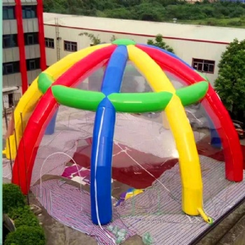 Customized Inflatable Spider Tent For Event Advertisment