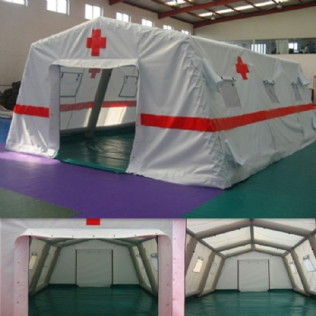 Moveable Inflatable airtight Hospital Rescue Tent