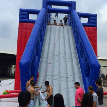 Inflatable Excited Free Fall Platform Tower Slide