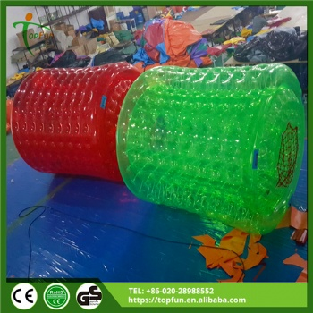 Colored Inflatable water Walking Roller