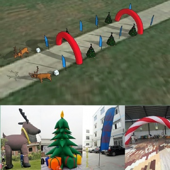 Christmas Party Event Decroation Inflatable Reindeer
