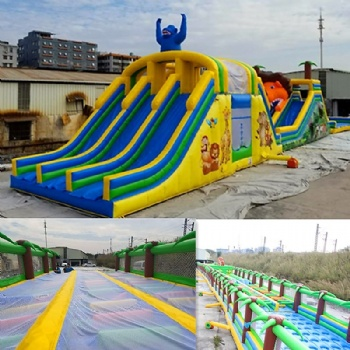 Customize Inflatable obstacle courses Isreal