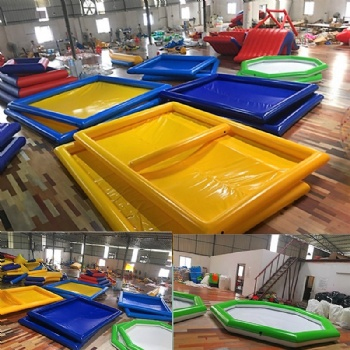 Small Moveable Inflatable Water Pool For Baby