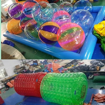 PVC Colored Walking On Water Ball For Sale
