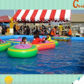 Children PVC Water Pool With Paddler Boat
