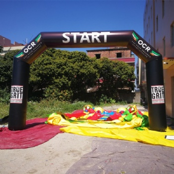 inflatable racing run start archway United State