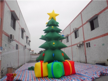 Inflatable Chirstmas Gift Tree and Arch decoration